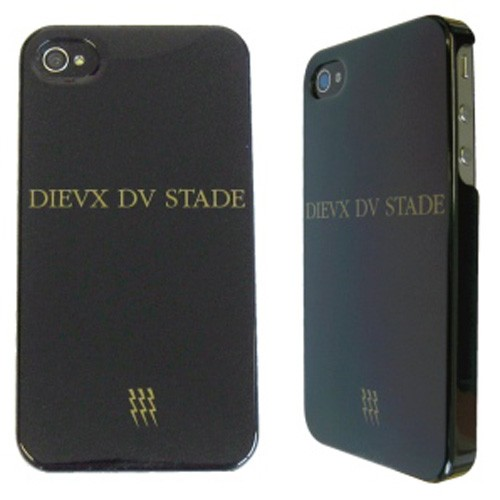 MUVIT Coque Stade Francais noire brillante iPhone 4/4S