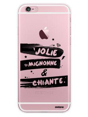 Coque transparente Jolie, Mignone & Chiante pour iPhone 6 PLUS/ 6S PLUS