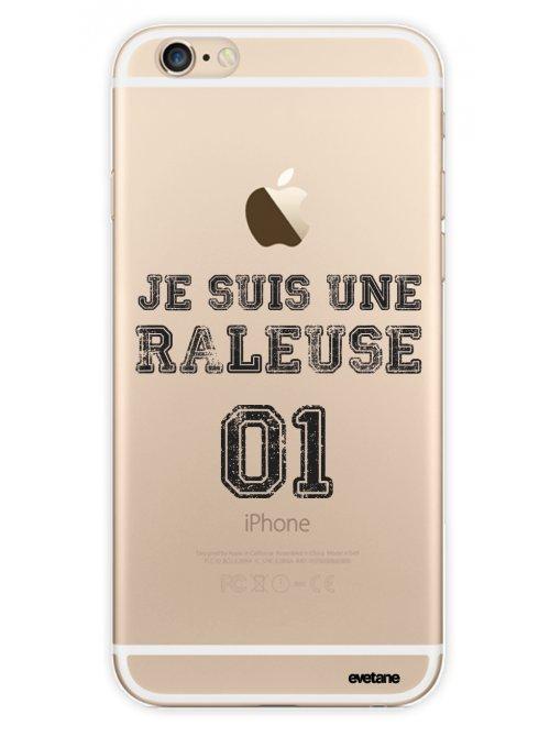 coque rigide transparent raleuse pour iphone 6 6s