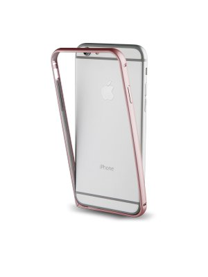 Muvit bumper or rose + Film Protecteur Arriere pour apple Iphone 7