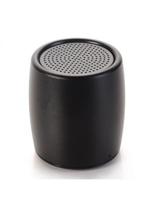 Mini enceinte portative Bluetooth - Effet métal brossé noir