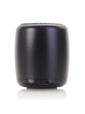 Extra mini enceinte portative Bluetooth - Effet métal brossé noir