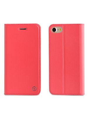 Muvit etui folio stand rose pour apple Iphone 7