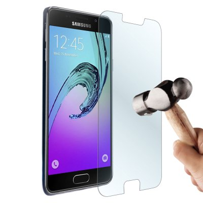 Vitre protectrice avant en verre trempé pour Samsung Galaxy A3 2016