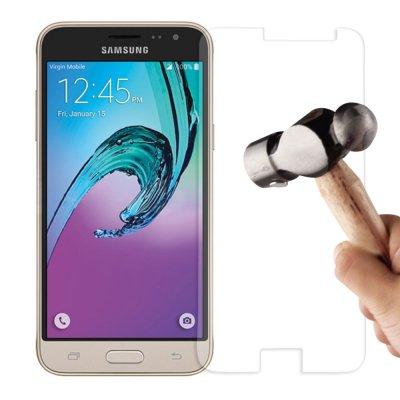 Vitre protectrice avant en verre trempé pour Samsung Galaxy J3 2016