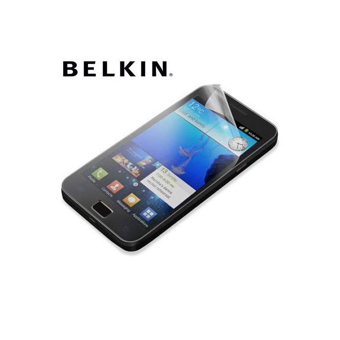 Belkin 2 protections d'écran anti traces de doigts pour Samsung Galaxy SII
