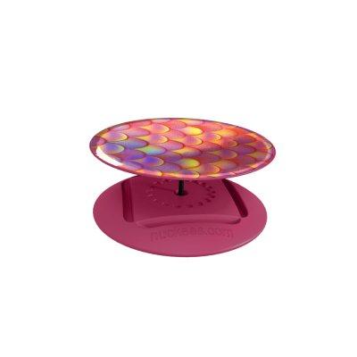 Ring Poignée et support universel de téléphone Hologramme rose de sirène