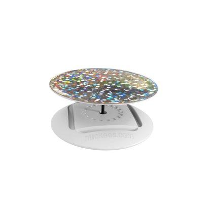 Ring Poignée et support universel de téléphone Hologramme scintillant de diamants