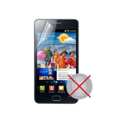 Film protège écran anti traces de doigts pour Samsung Galaxy SII