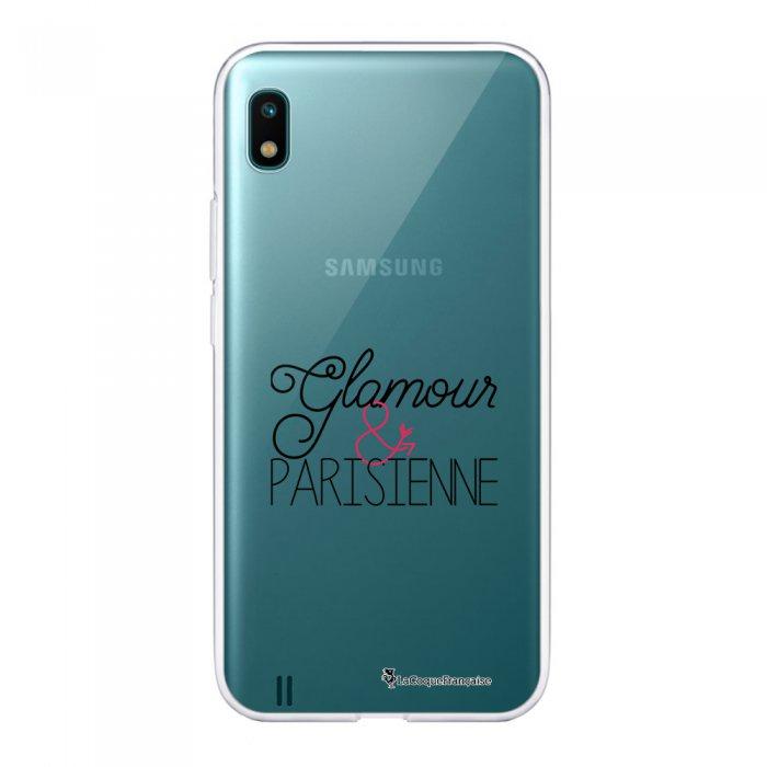Coque Samsung Galaxy A10 360 intégrale transparente Glamour et Parisienne Ecriture Tendance Design La Coque Francaise.