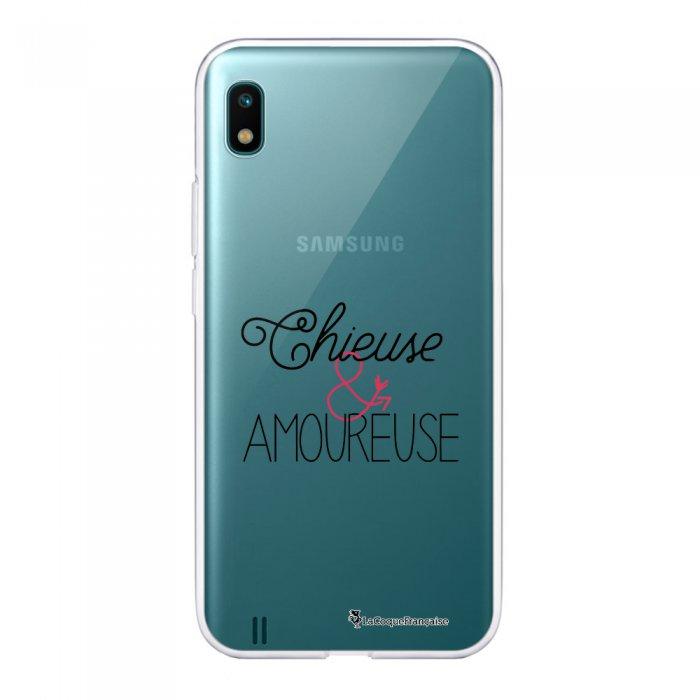 Coque Samsung Galaxy A10 360 intégrale transparente Chieuse et Amoureuse Ecriture Tendance Design La Coque Francaise.