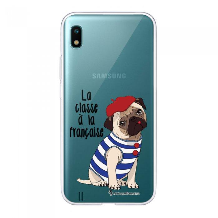 Coque Samsung Galaxy A10 360 intégrale transparente Chien Marinière Ecriture Tendance Design La Coque Francaise