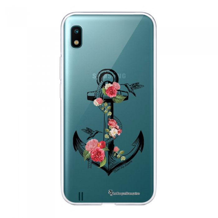 Coque Samsung Galaxy A10 360 intégrale transparente Ancre Ecriture Tendance Design La Coque Francaise
