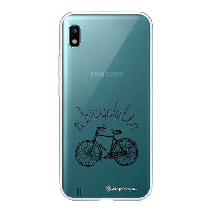 Coque Samsung Galaxy A10 360 intégrale transparente Bicyclette Ecriture Tendance Design La Coque Francaise