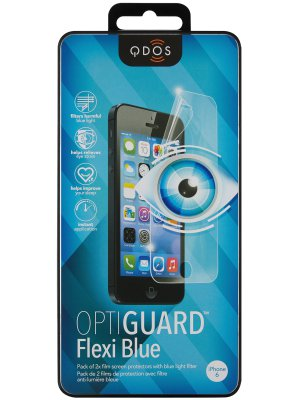Qdos film pet optiguard flexi lumiere bleue apple iphone 6/6s**