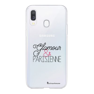 Coque Samsung Galaxy A20e 360 intégrale transparente Glamour et Parisienne Ecriture Tendance Design La Coque Francaise