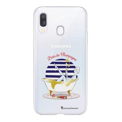 Coque Samsung Galaxy A20e 360 intégrale transparente Bain de champagne Ecriture Tendance Design La Coque Francaise