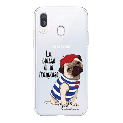 Coque Samsung Galaxy A20e 360 intégrale transparente Chien Marinière Ecriture Tendance Design La Coque Francaise