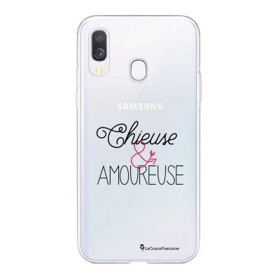 Coque Samsung Galaxy A20e 360 intégrale transparente Chieuse et Amoureuse Ecriture Tendance Design La Coque Francaise