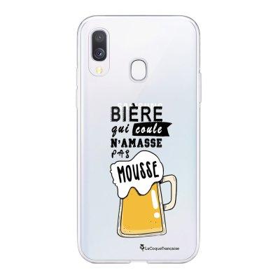 Coque Samsung Galaxy A20e 360 intégrale transparente Bière qui Coule Ecriture Tendance Design La Coque Francaise