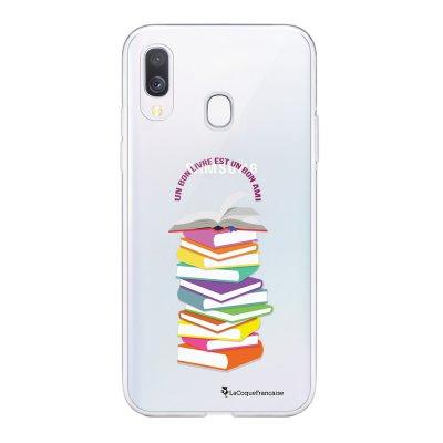 Coque Samsung Galaxy A20e 360 intégrale transparente Livres Ecriture Tendance Design La Coque Francaise