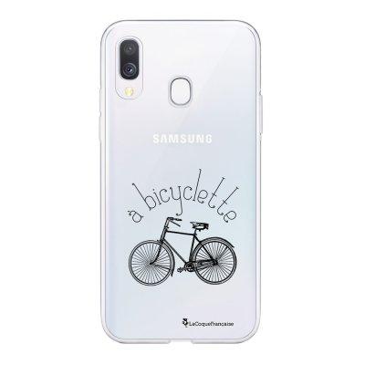 Coque Samsung Galaxy A20e 360 intégrale transparente Bicyclette Ecriture Tendance Design La Coque Francaise