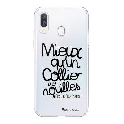 Coque Samsung Galaxy A20e 360 intégrale transparente Collier de nouilles Ecriture Tendance Design La Coque Francaise