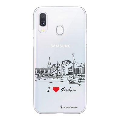 Coque Samsung Galaxy A20e 360 intégrale transparente I love Redon Ecriture Tendance Design La Coque Francaise