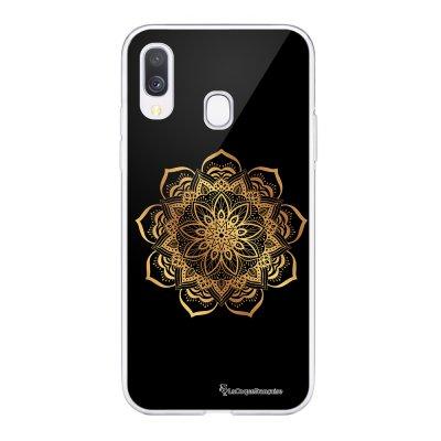 Coque Samsung Galaxy A20e 360 intégrale transparente Mandala Or Ecriture Tendance Design La Coque Francaise