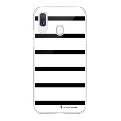 Coque Samsung Galaxy A20e 360 intégrale transparente Marinière Noire Ecriture Tendance Design La Coque Francaise