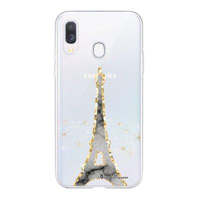 Coque Samsung Galaxy A20e 360 intégrale transparente Illumination de paris Ecriture Tendance Design La Coque Francaise