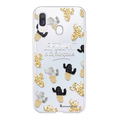 Coque Samsung Galaxy A20e 360 intégrale transparente Piquant à la Française Ecriture Tendance Design La Coque Francaise