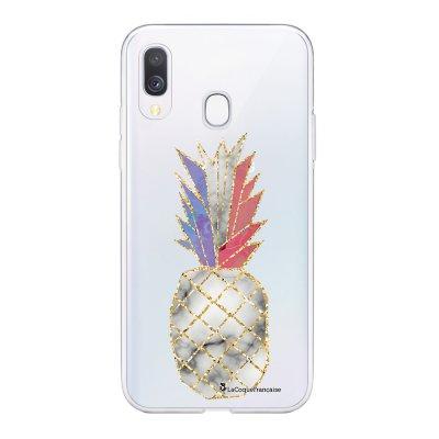 Coque Samsung Galaxy A20e 360 intégrale transparente Ananas à la Française Ecriture Tendance Design La Coque Francaise
