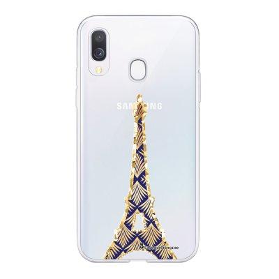 Coque Samsung Galaxy A20e 360 intégrale transparente Tour Eiffel Art Déco Ecriture Tendance Design La Coque Francaise