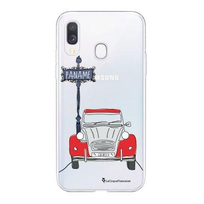 Coque Samsung Galaxy A20e 360 intégrale transparente 2CV cocorico Ecriture Tendance Design La Coque Francaise