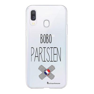 Coque Samsung Galaxy A20e 360 intégrale transparente Bobo parisien Ecriture Tendance Design La Coque Francaise