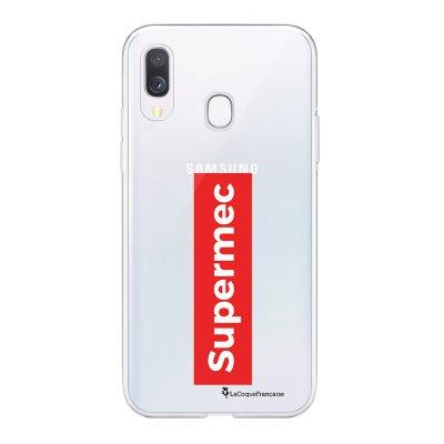 Coque Samsung Galaxy A20e 360 intégrale transparente SuperMec Ecriture Tendance Design La Coque Francaise