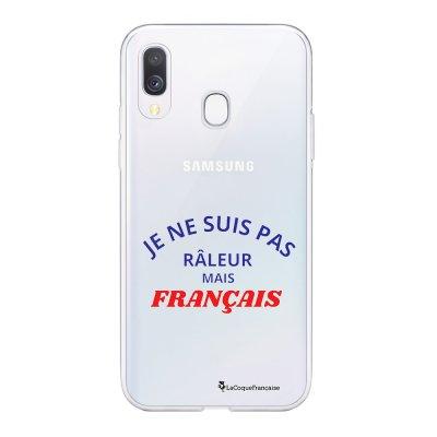 Coque Samsung Galaxy A20e 360 intégrale transparente Râleur mais Français Ecriture Tendance Design La Coque Francaise