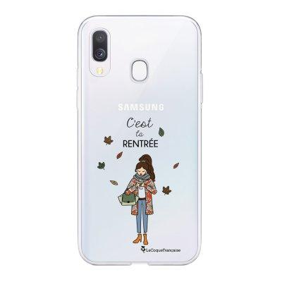Coque Samsung Galaxy A20e 360 intégrale transparente C'est la rentrée Ecriture Tendance Design La Coque Francaise