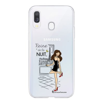Coque Samsung Galaxy A20e 360 intégrale transparente Reine de la Nuit Ecriture Tendance Design La Coque Francaise