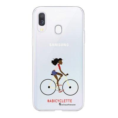 Coque Samsung Galaxy A20e 360 intégrale transparente A Bicyclette Ecriture Tendance Design La Coque Francaise