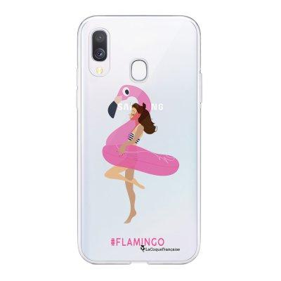 Coque Samsung Galaxy A20e 360 intégrale transparente Flamingo Ecriture Tendance Design La Coque Francaise