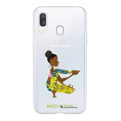 Coque Samsung Galaxy A20e 360 intégrale transparente Méditation Ecriture Tendance Design La Coque Francaise