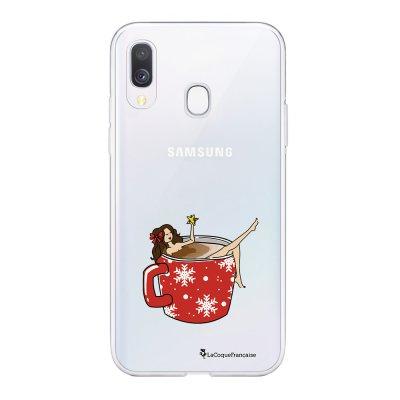 Coque Samsung Galaxy A20e 360 intégrale transparente Chocolat Chaud Ecriture Tendance Design La Coque Francaise