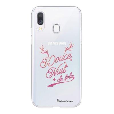Coque Samsung Galaxy A20e 360 intégrale transparente Douce nuit de Folie Ecriture Tendance Design La Coque Francaise