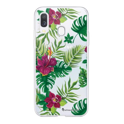 Coque Samsung Galaxy A20e 360 intégrale transparente Tropical Ecriture Tendance Design La Coque Francaise