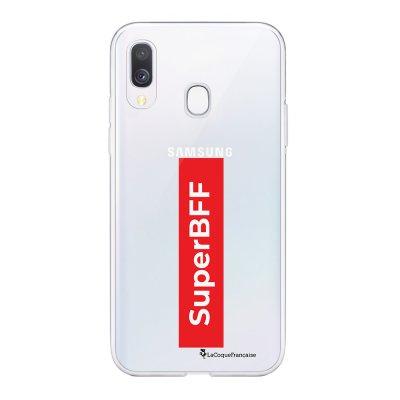 Coque Samsung Galaxy A20e 360 intégrale transparente SuperBFF Ecriture Tendance Design La Coque Francaise