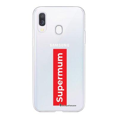 Coque Samsung Galaxy A20e 360 intégrale transparente SuperMum Ecriture Tendance Design La Coque Francaise