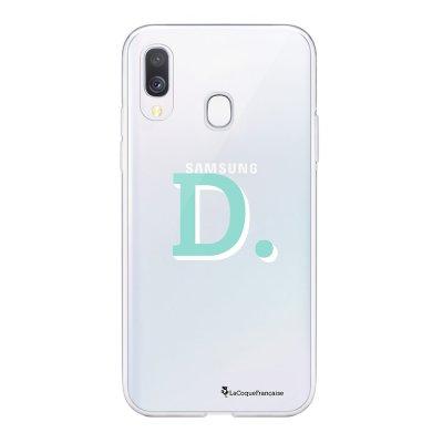 Coque Samsung Galaxy A20e 360 intégrale transparente Initiale D Ecriture Tendance Design La Coque Francaise
