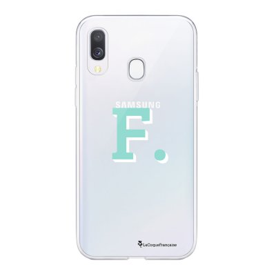 Coque Samsung Galaxy A20e 360 intégrale transparente Initiale F Ecriture Tendance Design La Coque Francaise